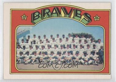 1972 O-Pee-Chee #21 - Atlanta Braves Team