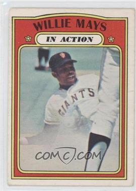 1972 O-Pee-Chee #50 - Willie Mays