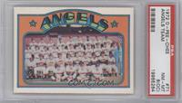 Los Angeles Angels Team [PSA 8 (OC)]