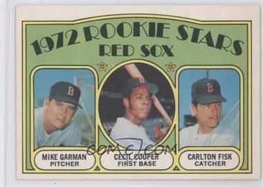 1972 O-Pee-Chee #79 - Mike Garman, Cecil Cooper, Carlton Fisk