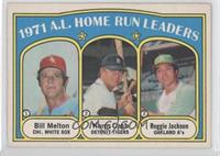 Bill Melton, Norm Cash, Reggie Jackson [Good to VG‑EX]