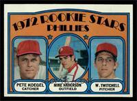Rookie Stars Phillies (Pete Koegel, Mike Anderson, Wayne Twitchell) [NM]