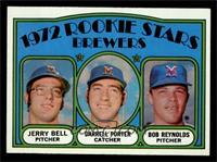 Rookie Stars Brewers (Jerry Bell, Darrell Porter, Bob Reynolds) [NMMT]