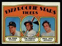 Rookie Stars Tigers (Jim Foor, Tim Hosley, Paul Jata) [EX]