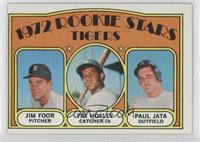 Rookie Stars Tigers (Jim Foor, Tim Hosley, Paul Jata)