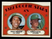 Rookie Stars A's (Dwain Anderson, Chris Floethe) [VG]