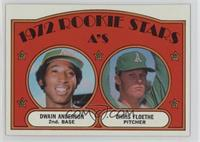 Rookie Stars A's (Dwain Anderson, Chris Floethe)