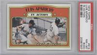 Luis Aparicio (In Action) [PSA 8 (OC)]
