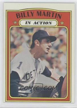 1972 Topps - [Base] #34 - Billy Martin In Action