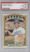 Maury Wills [PSA 8 (OC)]