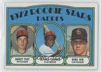Rookie Stars Padres (Darcy Fast, Derrel Thomas, Mike Ivie) [GoodtoV…