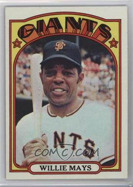1972 Topps - [Base] #49 - Willie Mays