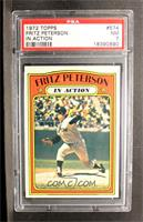 Fritz Peterson (In Action) [PSA 7]