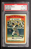 Fritz Peterson (In Action) [PSA 8]