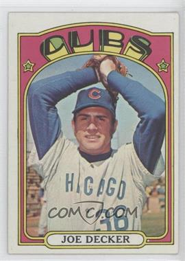 1972 Topps - [Base] #612 - Joe Decker