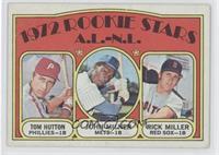 Rookie Stars A.L.-N.L. (Tom Hutton, John Milner, Rick Miller) [Goodto&nbs…