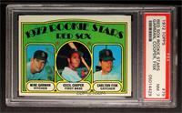 Red Sox Rookie Stars (Mike Garman, Cecil Cooper, Carlton Fisk) [PSA7]