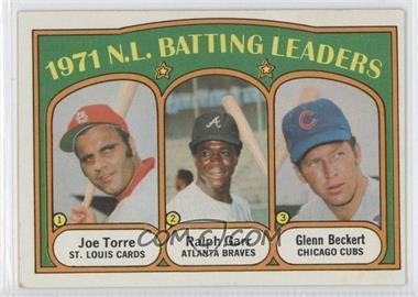 1972 Topps - [Base] #85 - 1971 N.L. Batting Leaders (Joe Torre, Ralph Garr, Glenn Beckert)