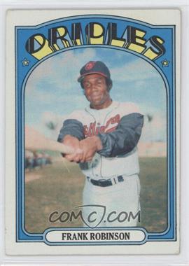 1972 Topps #100 - Frank Robinson