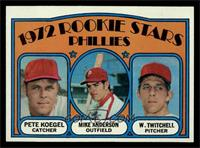 Rookie Stars Phillies (Pete Koegel, Mike Anderson, Wayne Twitchell) [NM]