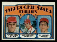Rookie Stars Phillies (Pete Koegel, Mike Anderson, Wayne Twitchell) [EX MT]