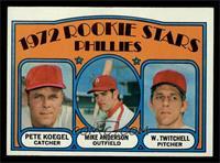Rookie Stars Phillies (Pete Koegel, Mike Anderson, Wayne Twitchell) [EXMT]