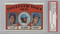 Rookie Stars Mets (Buzz Capra, Leroy Stanton, Jon Matlack) [PSA8]