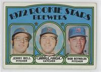 Rookie Stars Brewers (Jerry Bell, Darrell Porter, Bob Reynolds) [Good to&n…