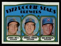 Rookie Stars Brewers (Jerry Bell, Darrell Porter, Bob Reynolds) [NM MT]