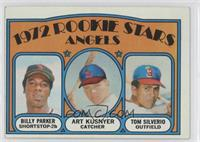 Rookie Stars Angles (Billy Parker, Art Kusnyer, Tom Silverio)