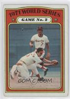 1971 World Series Game No. 2 (Brooks Robinson) [Good to VG‑EX]