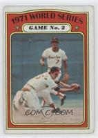 1971 World Series Game No. 2 (Dave Johnson) [GoodtoVG‑EX]