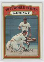 1971 World Series Game No. 2 (Dave Johnson) [Good to VG‑EX]