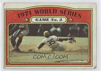 1971 World Series Game No. 3 (Manny Sanguillen) [GoodtoVG‑EX]