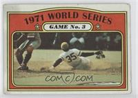 1971 World Series Game No. 3 (Manny Sanguillen) [Good to VG‑EX]