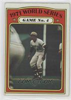 1971 World Series Game No. 4 (Roberto Clemente) [GoodtoVG‑EX]