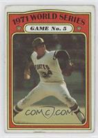 1971 World Series Game No. 5 (Nelson Briles) [GoodtoVG‑EX]