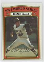 1971 World Series Game No. 5 (Nelson Briles)