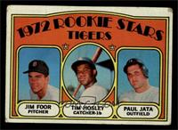 Rookie Stars Tigers (Jim Foor, Tim Hosley, Paul Jata) [GOOD]