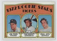 Rookie Stars Tigers (Jim Foor, Tim Hosley, Paul Jata) [Poor to Fair]