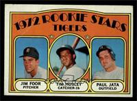 Rookie Stars Tigers (Jim Foor, Tim Hosley, Paul Jata) [VG]