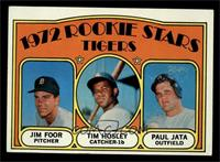 Rookie Stars Tigers (Jim Foor, Tim Hosley, Paul Jata) [VG]