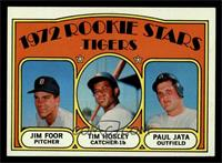 Rookie Stars Tigers (Jim Foor, Tim Hosley, Paul Jata) [NM MT]