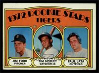 Rookie Stars Tigers (Jim Foor, Tim Hosley, Paul Jata) [EX]