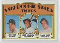 Rookie Stars Tigers (Jim Foor, Tim Hosley, Paul Jata)