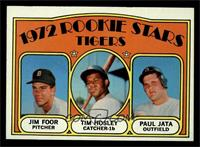 Rookie Stars Tigers (Jim Foor, Tim Hosley, Paul Jata) [EX MT]