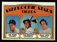 Rookie Stars Tigers (Jim Foor, Tim Hosley, Paul Jata) [EXMT]