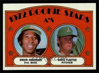 Rookie Stars A's (Dwain Anderson, Chris Floethe) [NM]