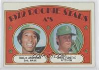 Rookie Stars A's (Dwain Anderson, Chris Floethe) [Good to VG‑EX]