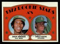 Rookie Stars A's (Dwain Anderson, Chris Floethe) [EX]